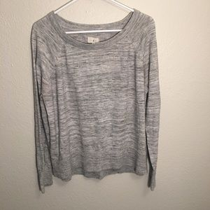 Lou & Grey light grey sweater (Large)